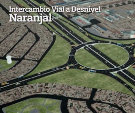 Intercambio Vial a Desnivel Naranjal