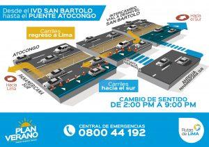 Semana Santa 2019: Rutas de Lima anuncia desvíos de retorno